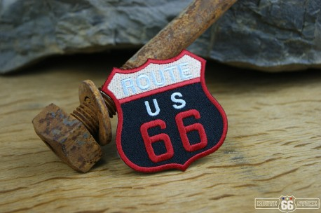 Nášivka Route 66 US Red